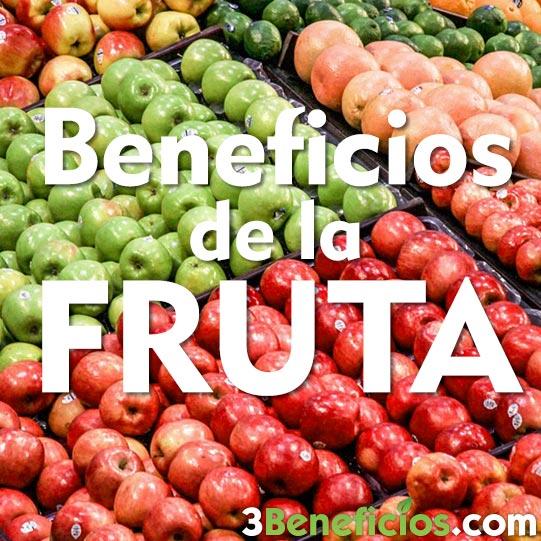 Fruta de muchos colores