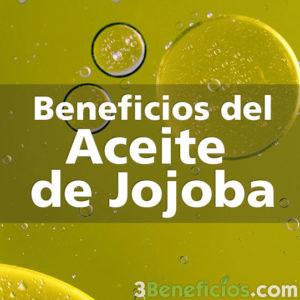 Aceite de jojoba con burbujas