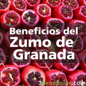 Fruta de granada mostrando sus semillas