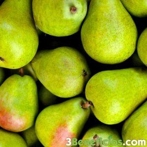 Fruta de color verde