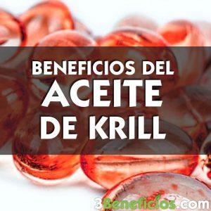 Beneficios del Aceite de Krill