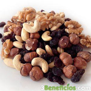 Semillas con frutos secos